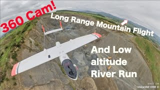 Final Skyhunter Flight ???? Long Range FPV to the Mountains ⛰& Low River Run