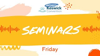 Keswick '20 - Seminar 5: Hope In and Through the Local Church