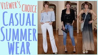Viewers Choice: Casual Summer Wear | Dominique Sachse