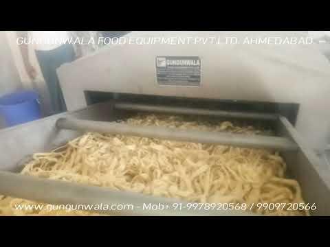 Continuous Namkeen Fryer with Diesel Heat Exchanger