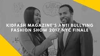KidFash Magazine's Anti Bullying Fashion Show 2017 NYC Finale