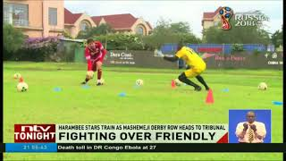 Harambee stars train as Mashemeji derby row heads to tribunal