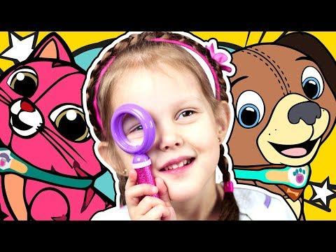 Проверка зрения и подбор очков ребенку
