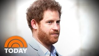 Prince Harry: I Was In 'Chaos' After My Mother Diana's Death | TODAY