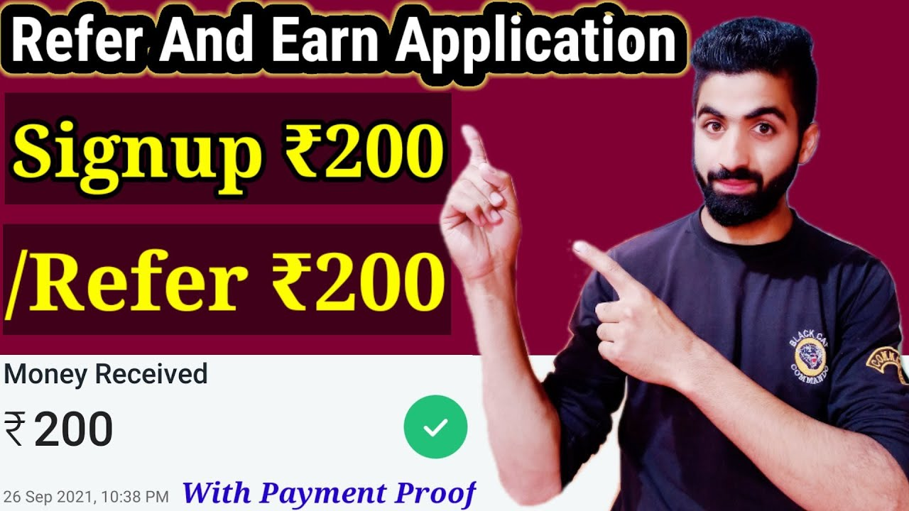 Signup 200 Per Refer 200|Refer and Make app|Generate Income Online 2021|Making App thumbnail