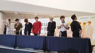 161009 인피니트 코엑스 공개 팬사인회