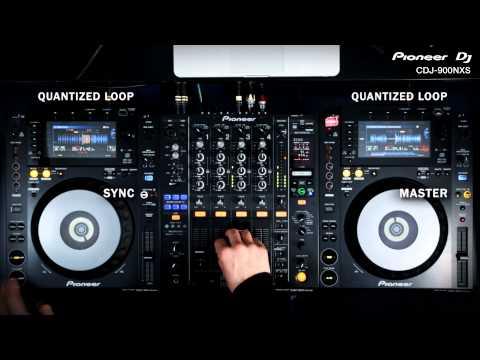 Pioneer CDJ-900NXS Professional CD/MP3 Player