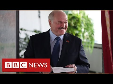 "Violent protests in Belarus as President Lukashenko claims ""landslide"" election victory - BBC News"