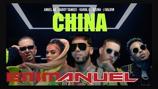 Descargar MP3 de Anuel AA, Daddy Yankee, Karol G, Ozuna & J Balvin - China (Video Oficial)