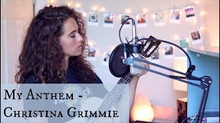 My Anthem / Christina Grimmie [live] (2 year tribute)