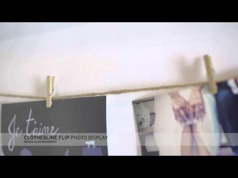 YouTube-Video zum Clothesline Flip Rahmen von Umbra
