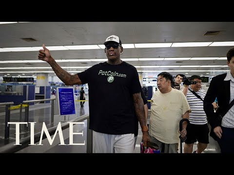 Dennis Rodman Returns To North Korea For Another Round Of 'Basketball Diplomacy' | TIME