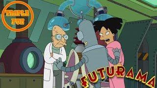 #Футурама 18+ Бендер и профессор поменялись мозгами! best Fun