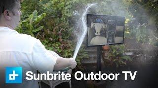 Sunbrite Signature series outdoor TV - hands on