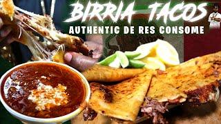 BIRRIA TACO'S WITH CONSOME (SOUP)  + JUICIEST TACO EVER