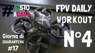17esimo giorno di quarantena. Giorno 4 di FPV! Altro piccolo volo indoor con le luci artificiali.