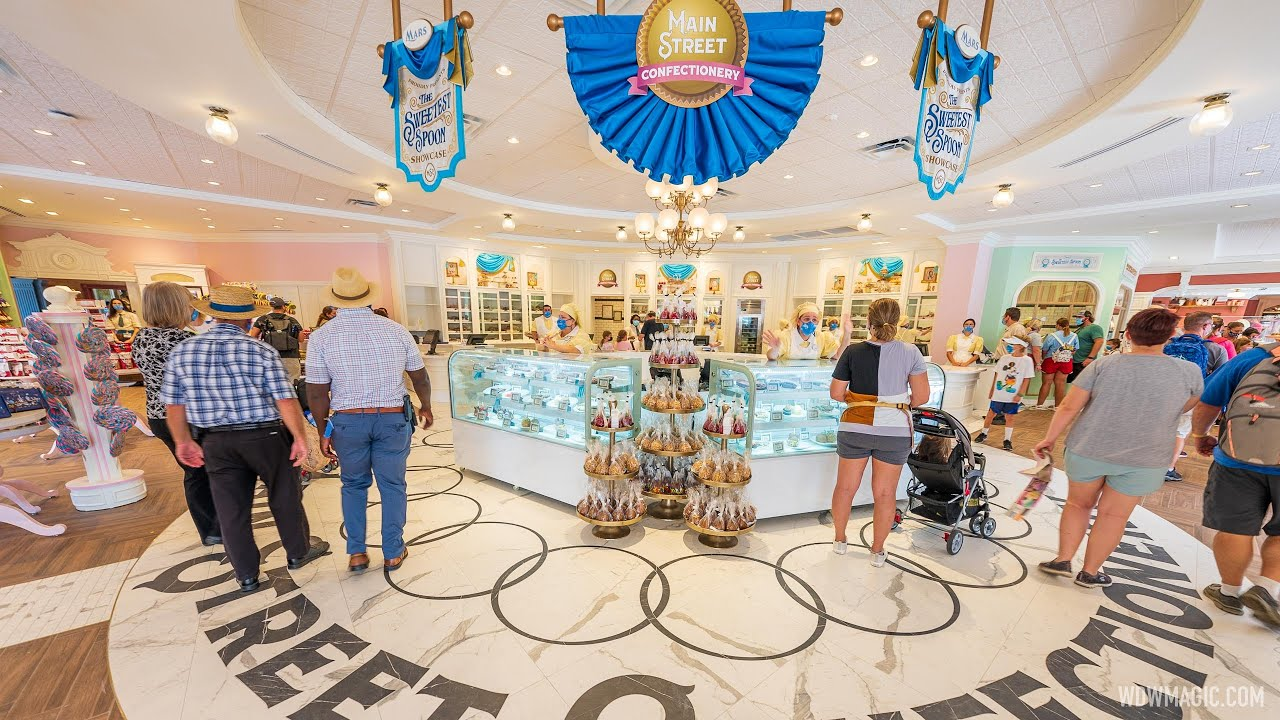 New Main Street Confectionery store