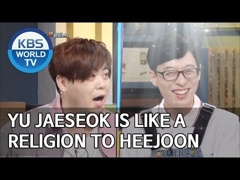 Yu Jaeseok is like a religion to Heejoon [Happy Together/2019.07.18]