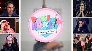 Let's Players Reaction To Sayori's Death | Doki Doki Literature Club