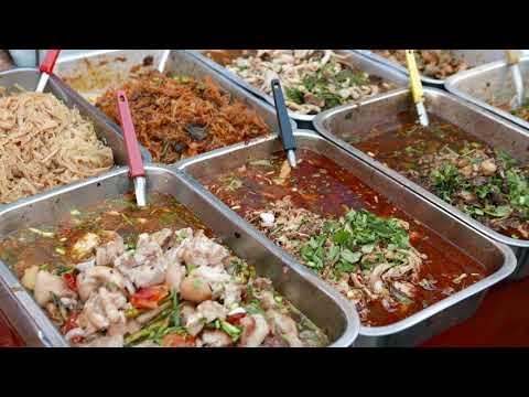 Thai Street Food  4K - Northern food - Sep. 22, 2017 Clip#03