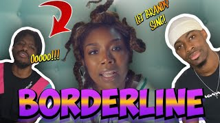 THEM VOCALS!! Brandy - Borderline (REACTION)