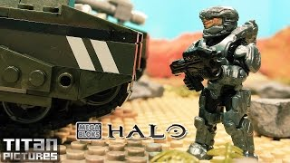 Halo Mega Bloks Stop Motion | Welcome to Alluvion Part 1