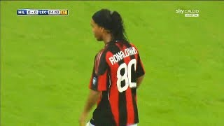 The Match That Ronaldinho Proved Why He Should Be In 2010 WC