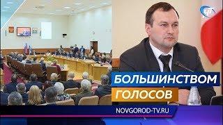 Избранный мэр Великого Новгорода Сергей Бусурин будет налаживать работу с общественниками