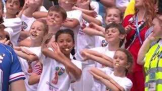 калинка-малинка  Аида Гарифуллина , церемония закрытия ЧМ 2018