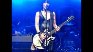 Joan Jett and The Blackhearts performing Little Liar at the Zucchini Festival Obetz, OH 08-25-12