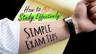 HOW TO STUDY EFFECTIVELY: SIMPLE EXAM TIPS | Doctor Mike​ - Video Youtube