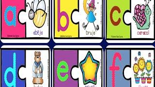 Aprendemos el abecedario con dibujos divertidos