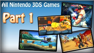 All Nintendo 3DS Games Part 1 [HD]