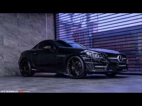 HITz SuperCar Mercedes-Benz SLK with STR Forged Wheels