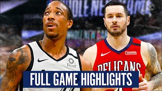 SAN ANTONIO SPURS vs NEW ORLEANS PELICANS - FULL GAME HIGHLIGHTS | 2019-20 NBA Season