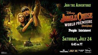 Live 🔴 Jungle Cruise World Premiere | July 24, 2021 6:45pm PT