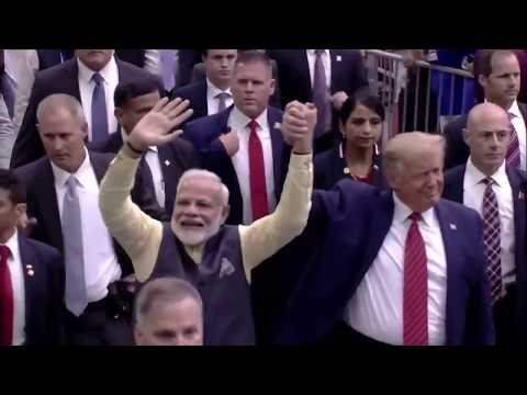 PM Narendra Modi and President Donald Trump attended 'Howdy Modi' event