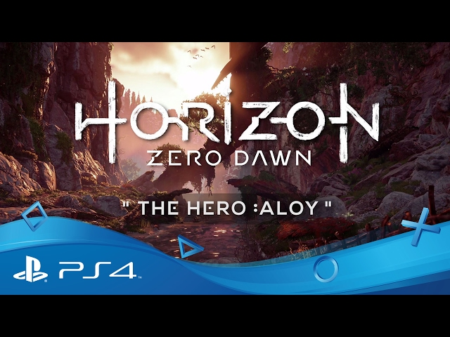 Horizon Zero Dawn | The Hero: Aloy | PS4