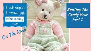 How To Knit The Candy Bear - Tips to Make it Easier + New Free Goodies