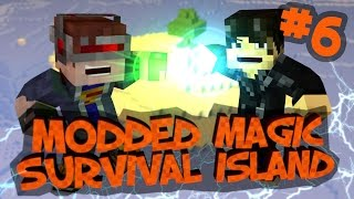 Survival Island Modded Magic - Minecraft: Holy Banana Tree! Part 6