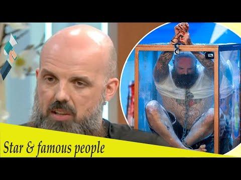 Britain's Got Talent's Matt Johnson on THAT nail-biting escape (видео)
