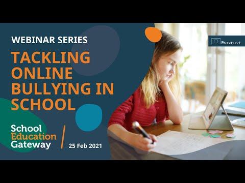 Tackling online bullying in school - Webinar - YouTube