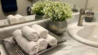 Bathroom Decorating On A Budget! #bathroomdecor #sparklelove