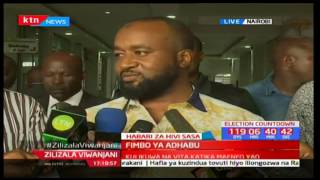 Hassan Joho gives clear warning to the whole ODM fraternity on violence