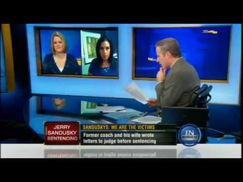 Meg Strickler on In Session with Vinnie Politan October 11, 2012 discussing Jerry Sandusky