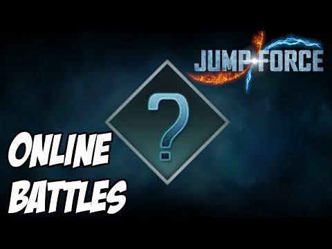 "Jump Force: Online Random Battles - ""Try most powerful Secret Technique!"""