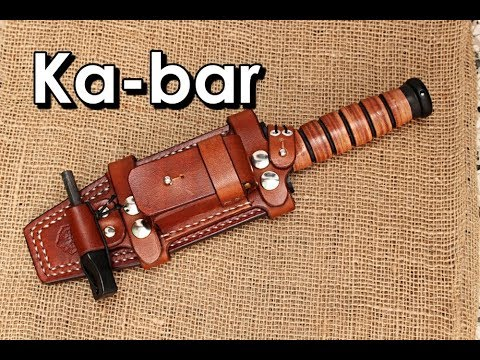 Making A Ka-bar Leather Sheath Knife Mp3