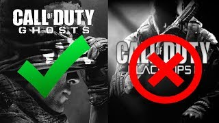 I Chose Ghosts Over BO2! (regrets)