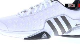 Adidas Barricade 9 Men's Shoes White video