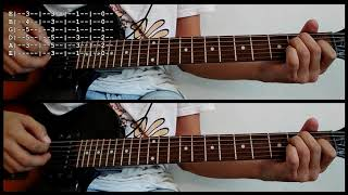 One Point Perspective - Arctic Monkeys | Cover | Tutorial | Electric Guitar | Chords Tab